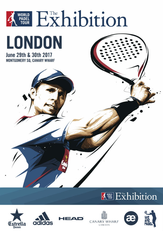 Imagen foto carné: World Padel Tour London Exhibition