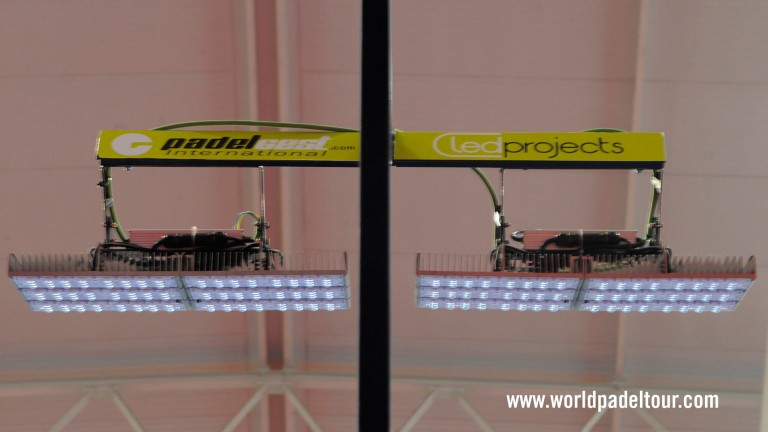 Led Projects official World Padel Tour supplier