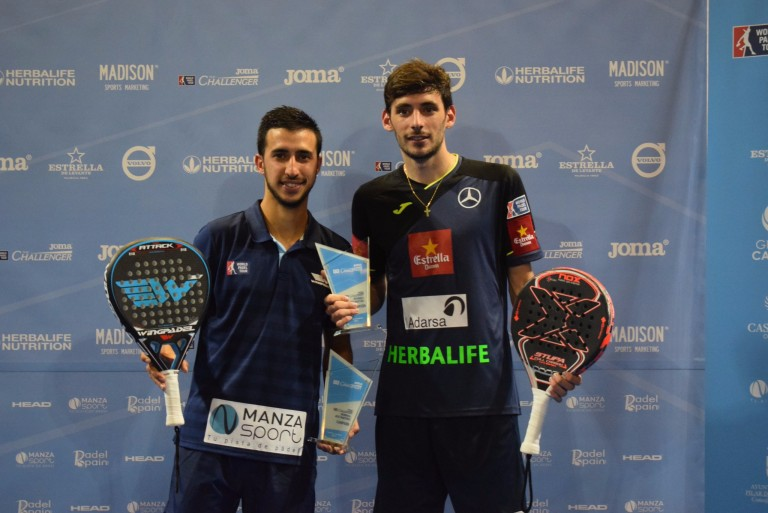 Stupa and Cepero win the first Challenger of the season