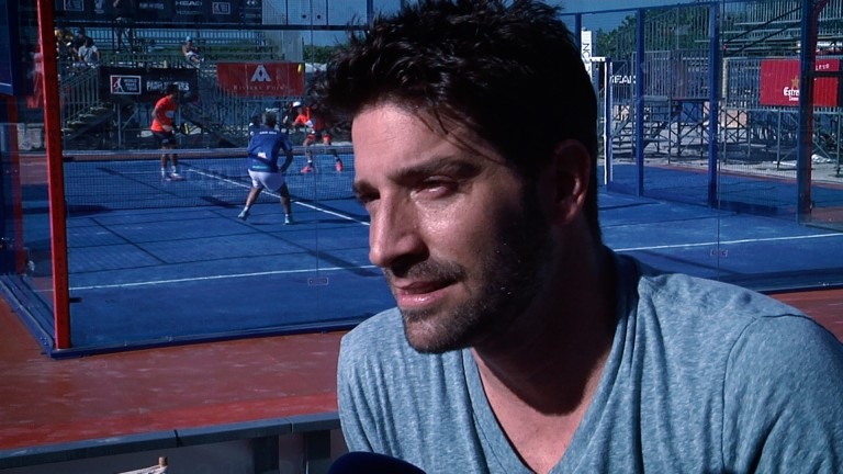 David Chocarro, embajador de lujo de World Padel Tour en Miami [Vídeo]