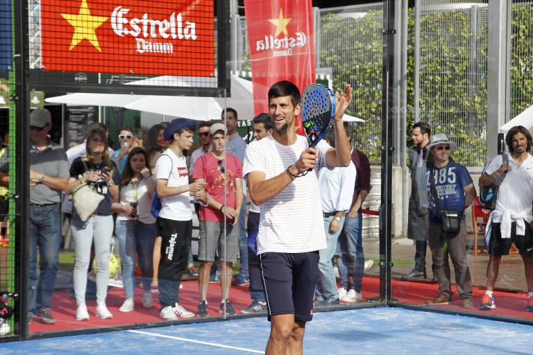 Djokovic World Padel Tour 2