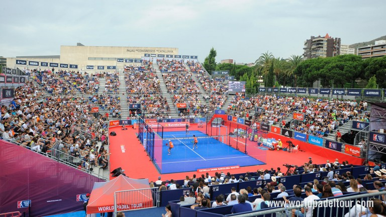 Image result for padel court stadium world tour