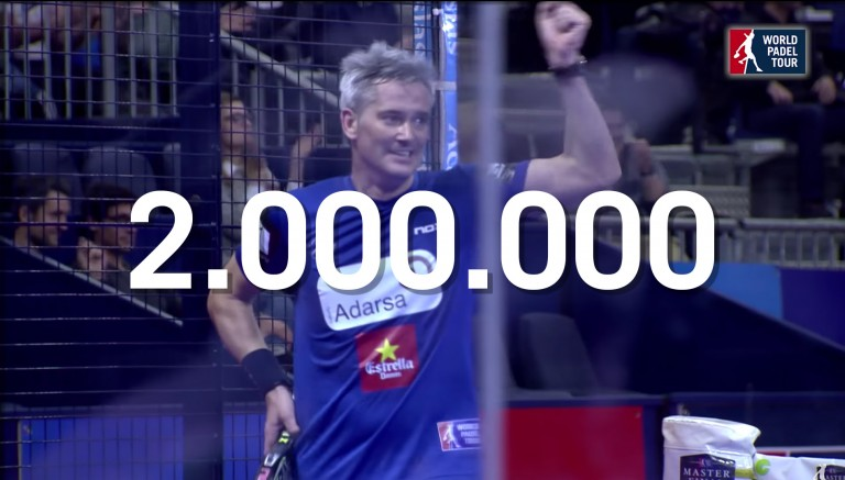 A padel gem that continues to break records with over 2 million visits
