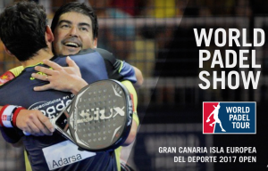 World Padel Show at the Gran Canaria Isla Europea del Deporte 2017