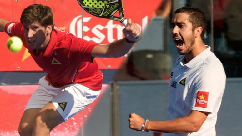 The emotion of Nacho Gadea and Sánchez Piñeiro's first quarter finals