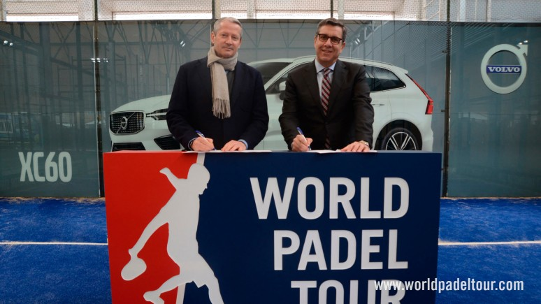 Volvo will continue to sponsor the best padel in the world for a another couple of years