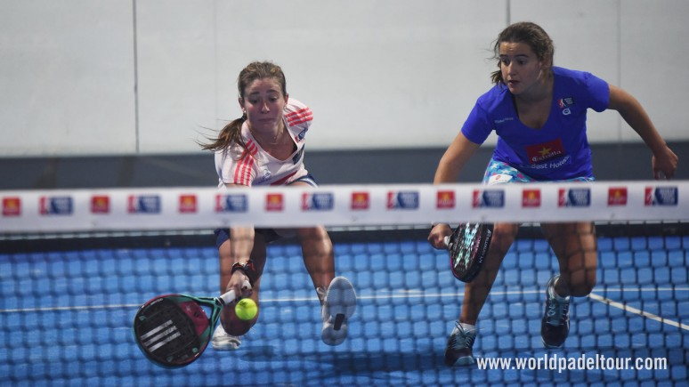Reaching the semis wasn't child's play for Marta Ortega and Ariana Sánchez