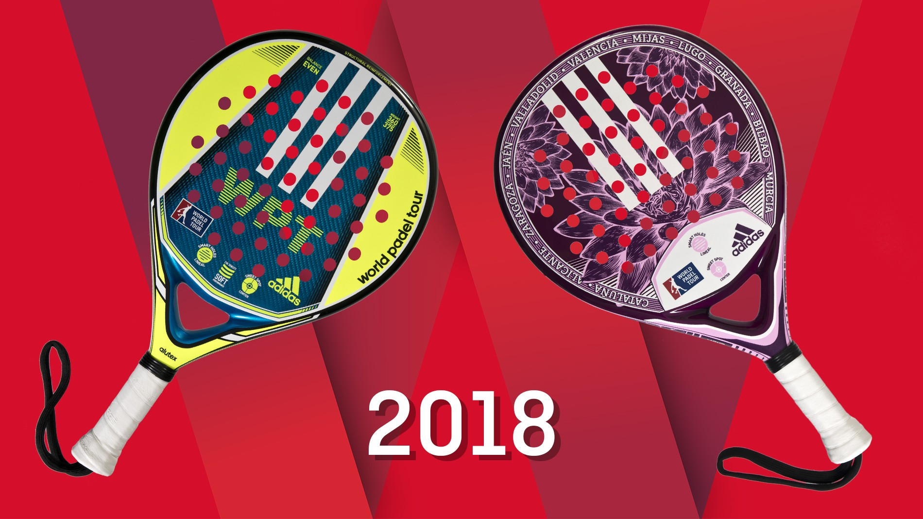 frecuentemente Analgésico limpiador  The new official Adidas World Padel Tour rackets are ready for battle |  World Padel Tour