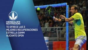The best recoveries from the Estrella Damm Alicante Open 2018 by Herbalife
