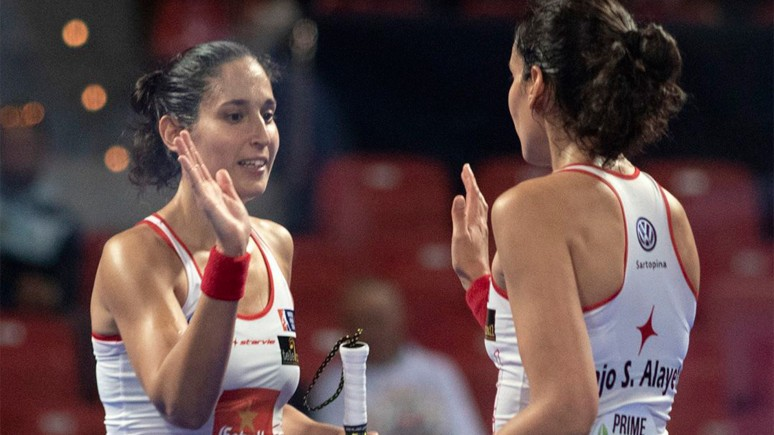 A ferocious version of the twins makes the semis in Zaragoza