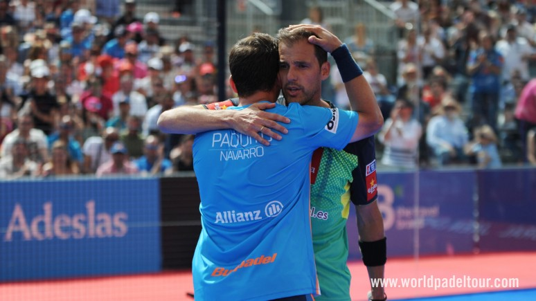 Paquito and Juan Martin come out on top in a padel feast