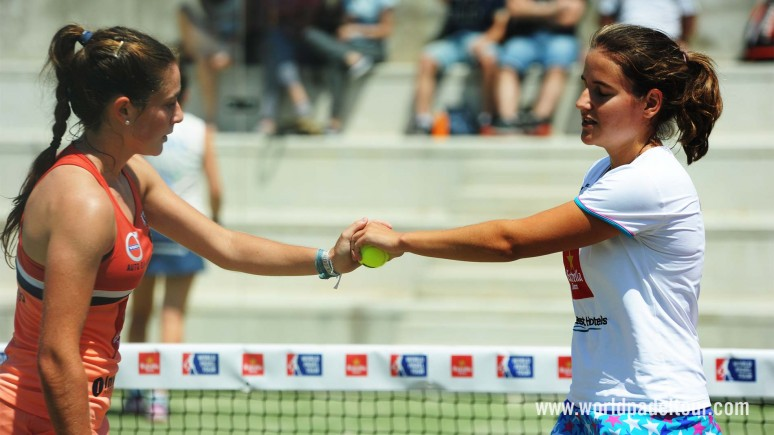 Marta Ortega and Ariana Sánchez regain their smile and a place in the semifinals