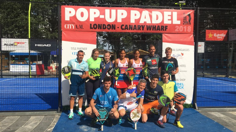 London receives the best padel in the world