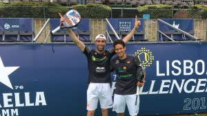 Ruiz and Botello don't let their second final slip away: Champions of the Lisboa Challenger