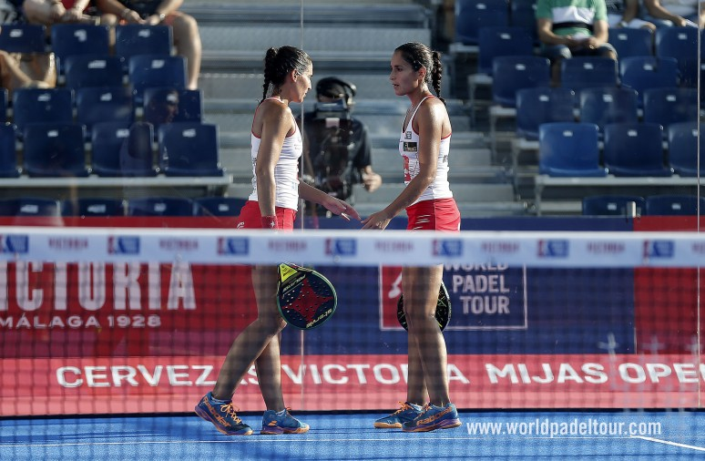 The twins don't miss out on the semis in Mijas