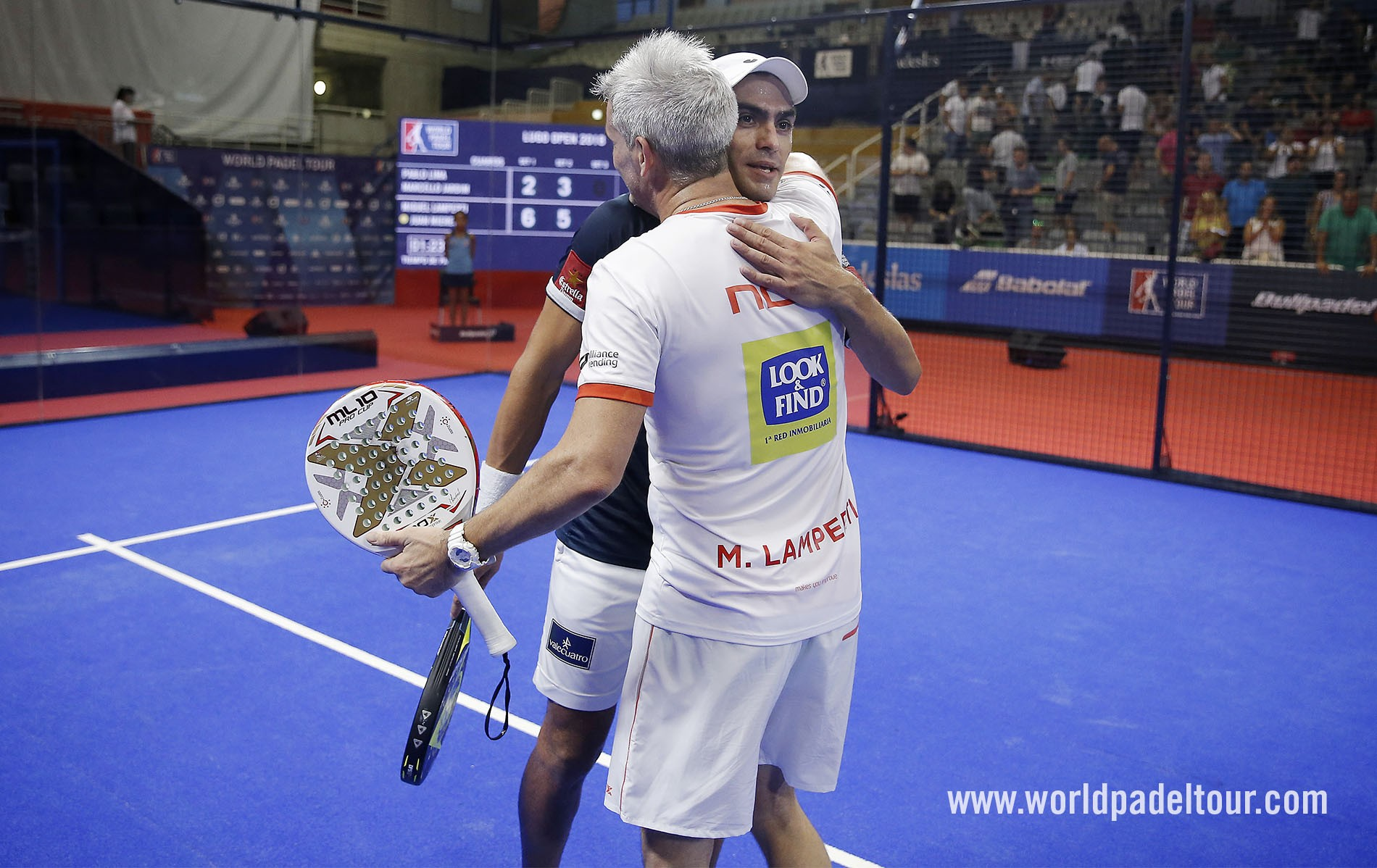 Third Semifinals Of The Year For Mieres And Lamperti World Padel Tour