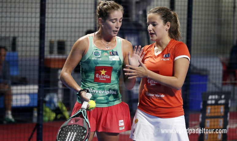 Marta Ortega and Ariana Sánchez reach the semis in epic fashion