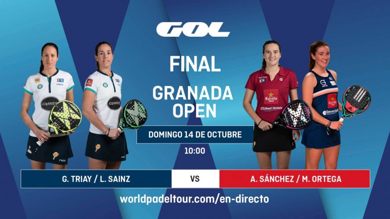 Don't miss the finals of the Granada Open from 10:00 am