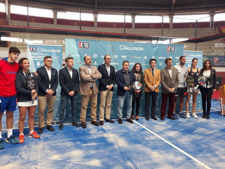 Official presentation of the Arroyo de la Encomienda Challenger 2018