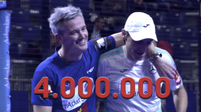 Unstoppable! This piece of padel magic from 2016 reaches 4,000,000 views