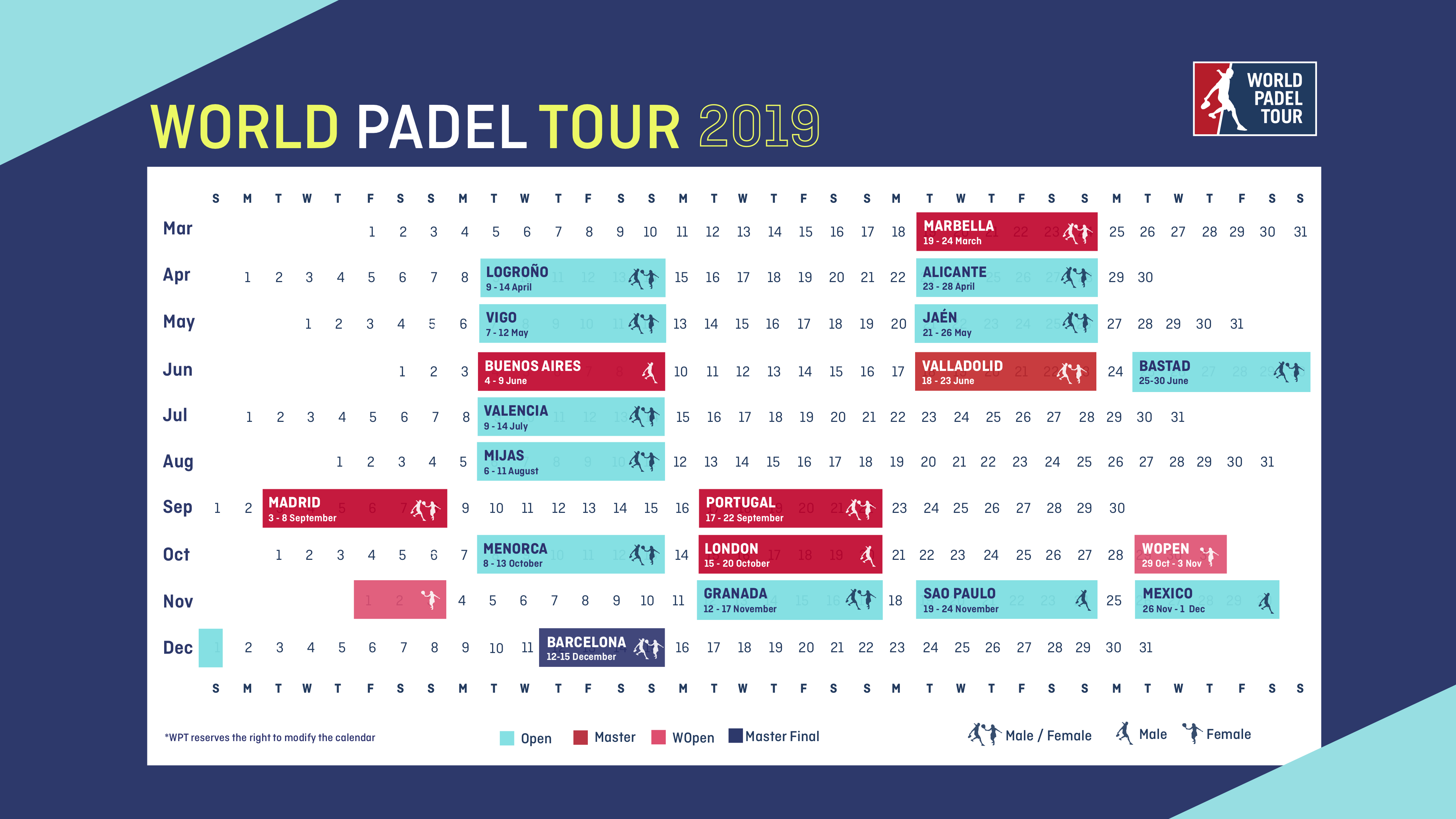Wpt Calendario.The 2019 Season Will Be The Most International In The History Of