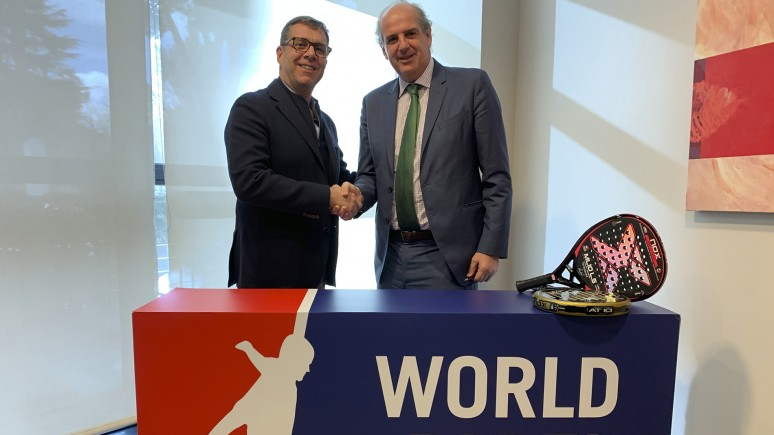 Nox, new official racket of the World Padel Tour