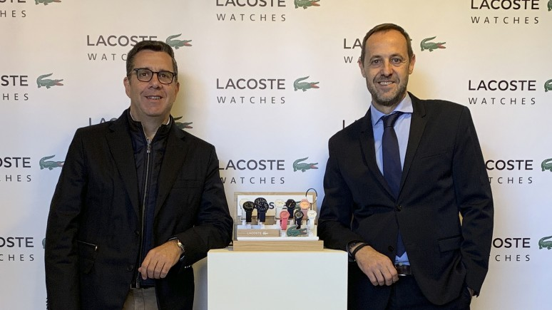 Lacoste Watches, reloj oficial de World Padel Tour