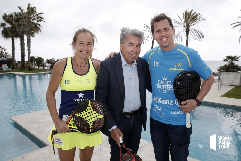 Manolo Santana joins World Padel Tour in the premiere of the 2019 season