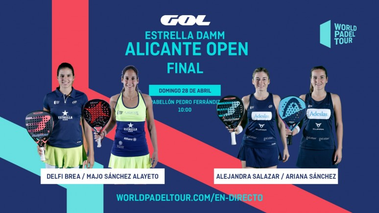 Follow this sunday from 10:00 the finals of the Estrella Damm Alicante Open