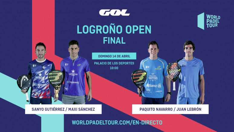 Follow this sunday the finals of the Logroño Open