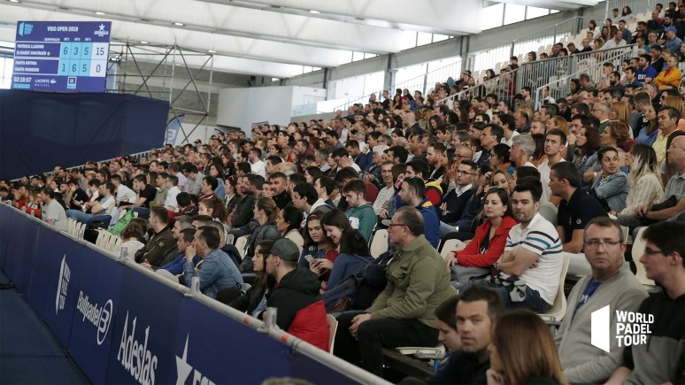 The Vigo Open will be the second test of the World Padel Tour season