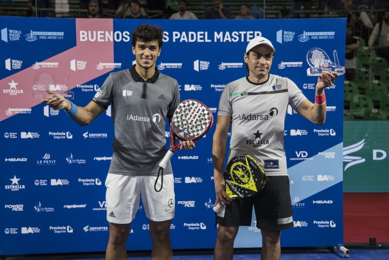 Bela's injury crowns Mieres and Galán in Buenos Aires