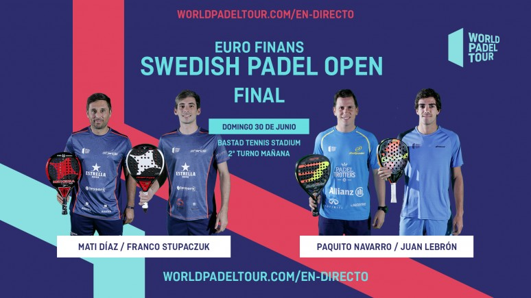 Follow Live The Finals Of The Euro Finans Swedish Padel Open From 14 00 World Padel Tour