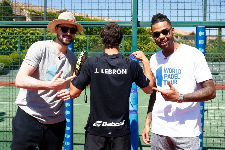 World Padel Tour y la NBA: un amor a primera vista