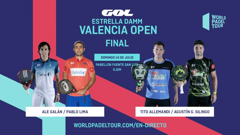 Follow The Finals Of The Estrella Damm Valencia Open Live From 10 00 World Padel Tour