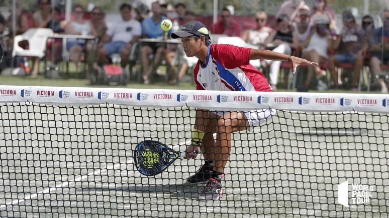 Zhang Bohou makes history for the Chinese padel in the Cervezas Victoria Mijas Open
