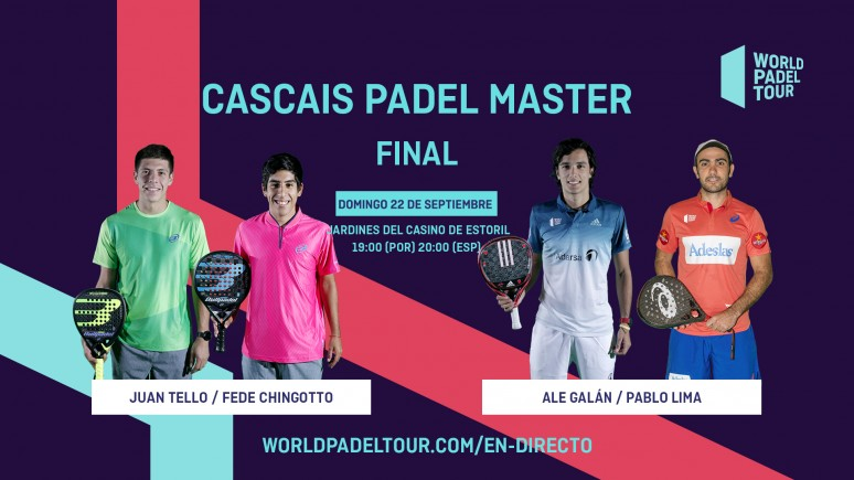 Follow Live The Men S Final Of The Cascais Padel Master From 19 00 Por 20 00 Esp World Padel Tour