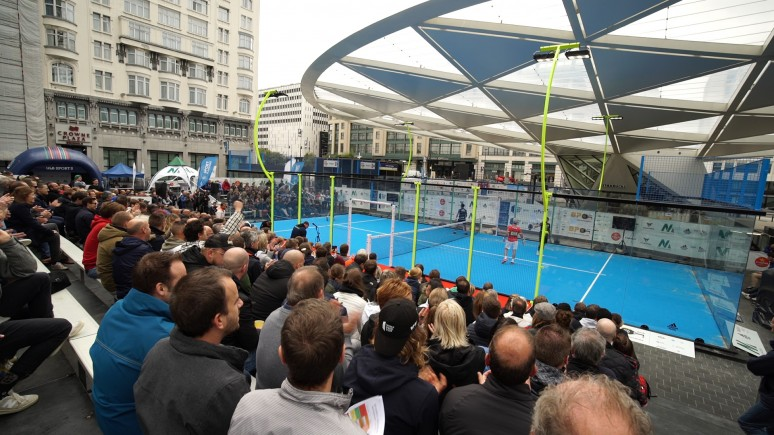 Magic connection between the Belgian public and World Padel Tour