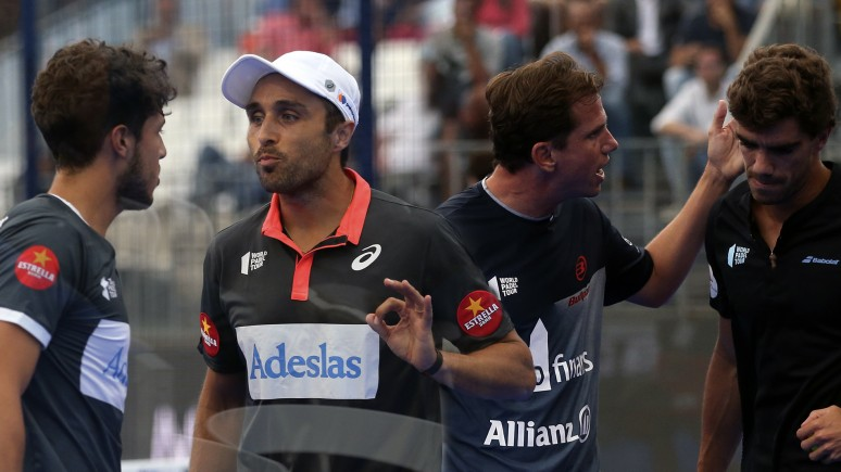 The most intense game of the Cascais Padel Master 2019