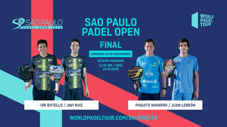 Samba! Follow live from the 11:30 (BR) 15:30 (ESP) the final of the Sao Paulo Padel Open