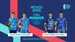 Follow Live The Final Of The Mexico Open 2019 World Padel Tour