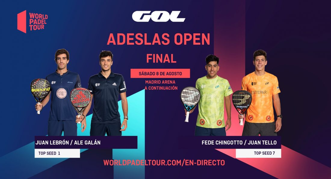 Follow live in English the finals of the Adeslas Open 2020