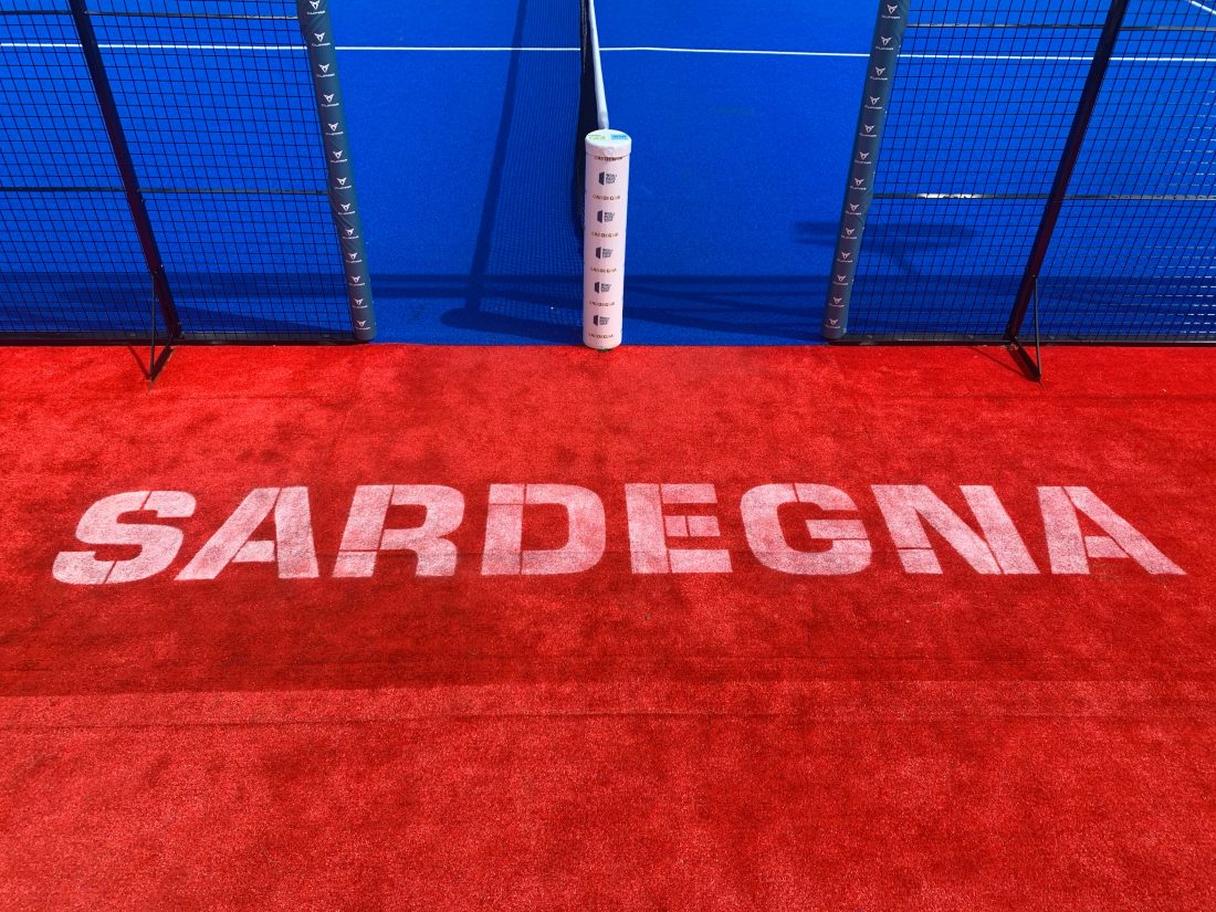 The day at the Sardegna Open, scheduled to resume at 3:00 p.m.