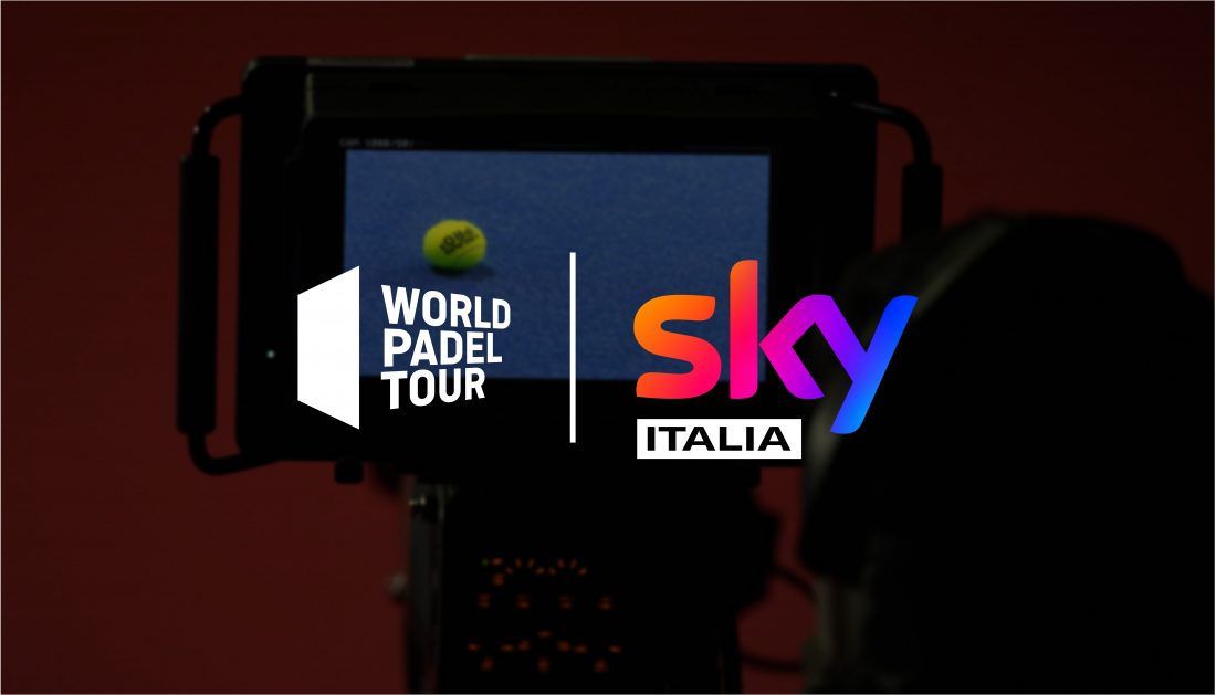 Sky Italia will broadcast the next World Padel Tour tournaments live