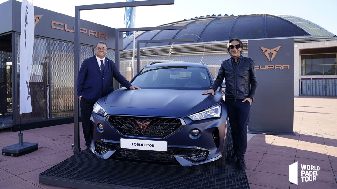 The new Cupra Formentor, Official Car of World Padel Tour