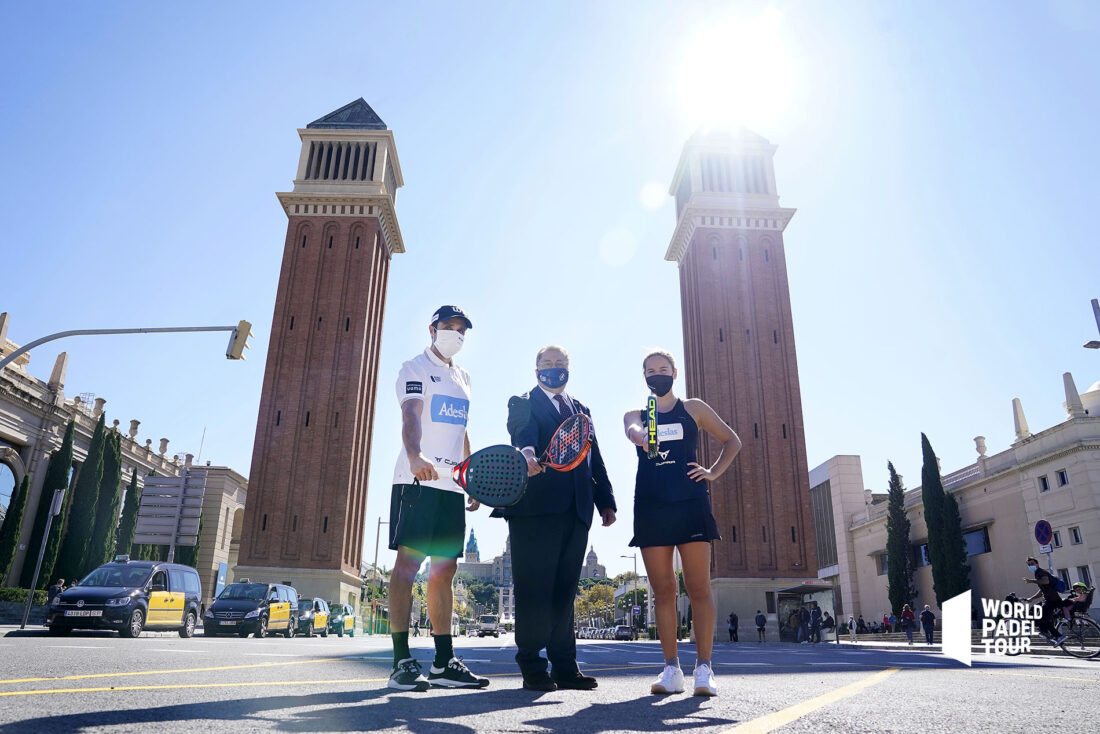 Barcelona dresses up to receive the best padel in the world