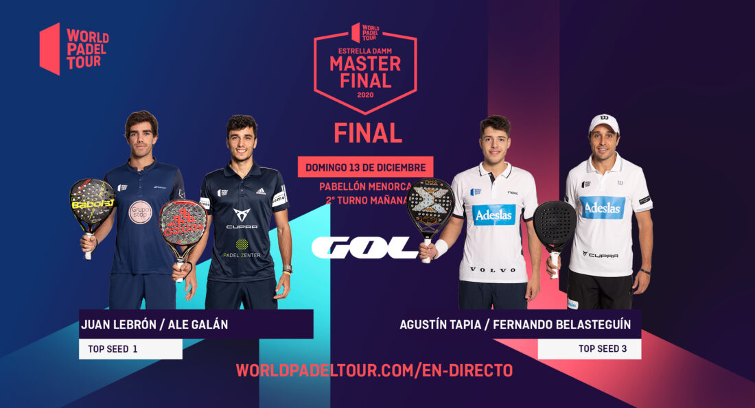 Follow live the finals of the Estrella Damm Menorca Master Final 2020