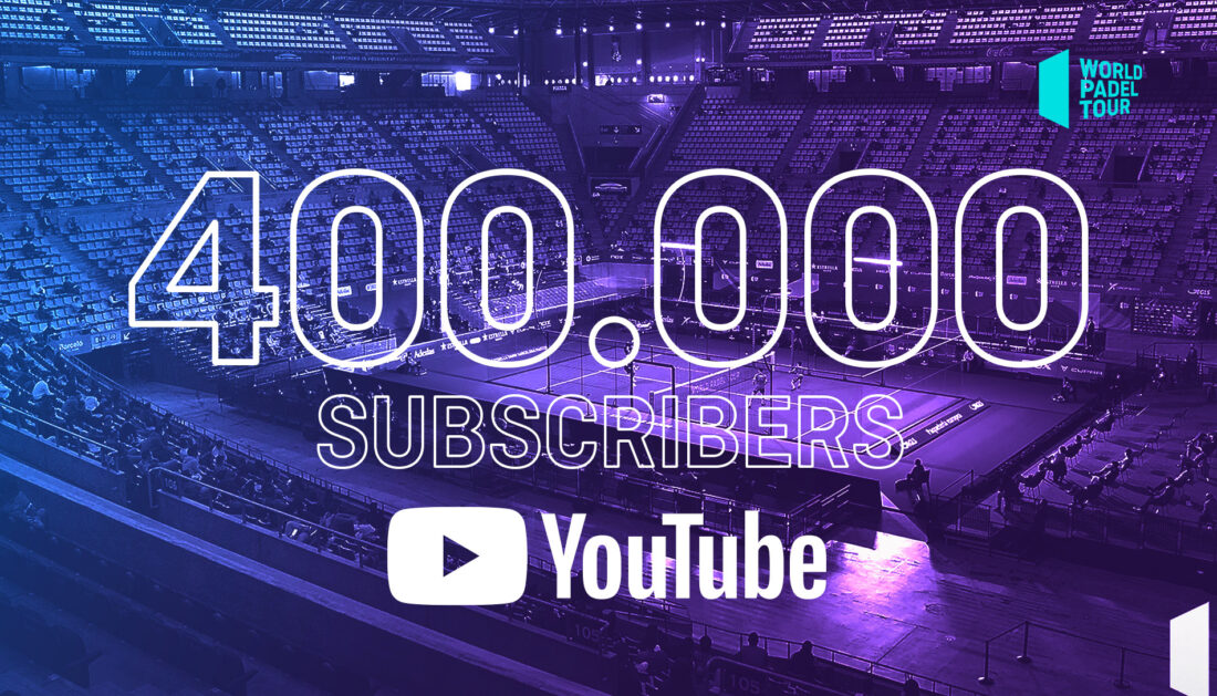 ¡Ya somos 400.000 en Youtube!