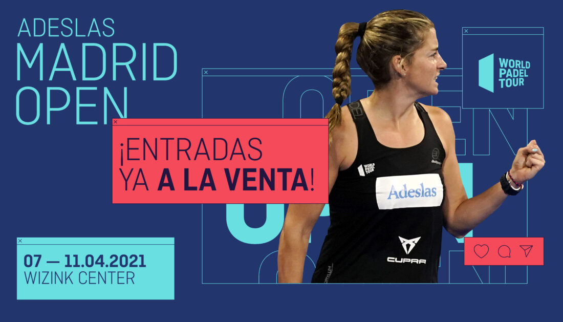 Tickets for the Adeslas Madrid Open are now on sale!