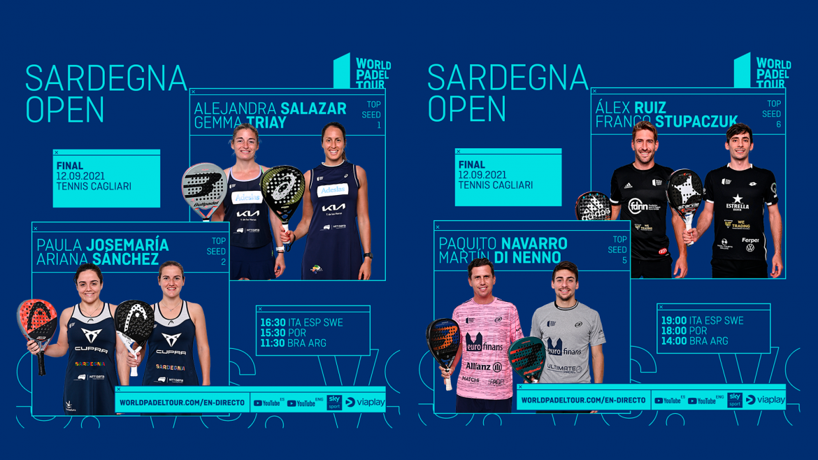 Tune in this Sunday to the Semifinals of the Sardegna Open 2021